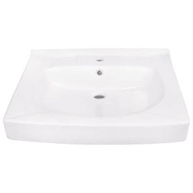 Раковина Santek «Пилот» на стиральную машину керамическая 60 см, цвет белый