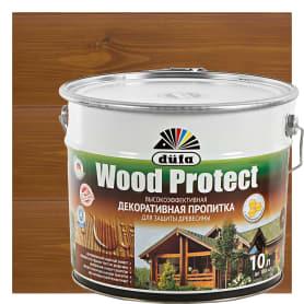 Антисептик Wood Protect цвет орех 10 л