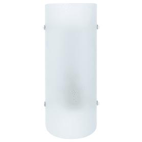 Светильник настенный Hanko 1xE27x60 Вт, стекло, цвет матовый/белый