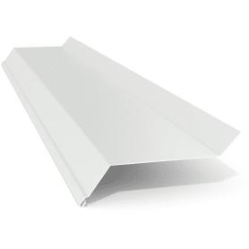 Отлив 100x2000 мм цвет белый