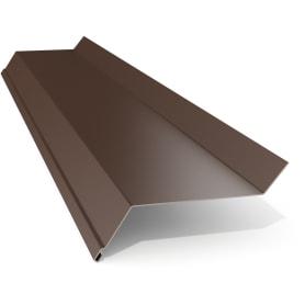 Отлив 50x2000 мм цвет коричневый