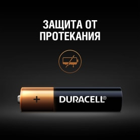 Батарейка алкалиновая Duracell AAA/LR03 2 шт