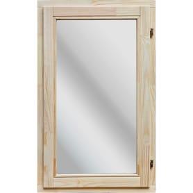 Окно деревянное 96x58 см, однокамерный стеклопакет
