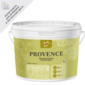 Штукатурка декоративная Parade Ice Provence 15 кг цвет белый