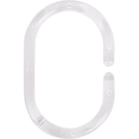 Кольца для шторок Sensea пластиковые, цвет прозрачный, 12 шт
