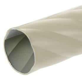 Штанга витая 160 см цвет белый антик