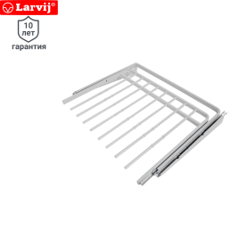 Брючница Larvij 596х425х23 мм металл