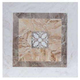 Керамогранит «Privilege Avorio Cassetone» 45x45 см 1.01 м2 цвет бежевый