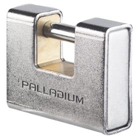 Замок навесной Palladium 702BS-90, латунь/сталь