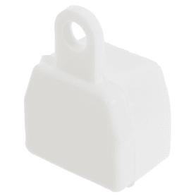 Заглушка U-шины цвет белый, 2 шт.