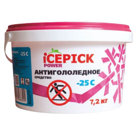 Антигололедное средство ICEPICK POWER, 7,2 кг
