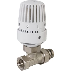 """Комплект терморегулирующий Heizen, прямой 1/2"""" для радиатора"""