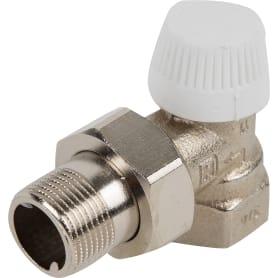 """Термостатический клапан для радиатора Heizen, угловой 3/4"""""""