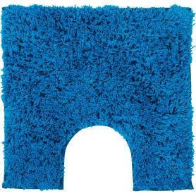 Коврик для туалета Sensea Twist, 55х55 см, микрофибра, цвет синий