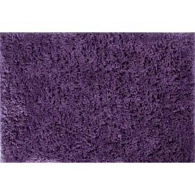 Коврик для ванной комнаты «Twist» 60х90 см цвет фиолетовый