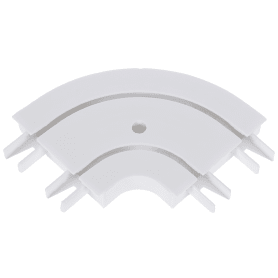 Соединитель поворотный двухрядный Inspire внутренний пластик цвет белый