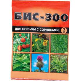 Средство для борьбы с сорняками на посадках земляники и газонах «БИС-300» 3 мл