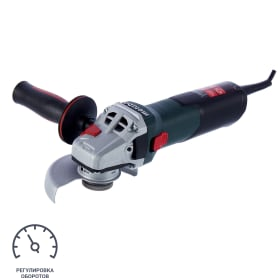 УШМ (болгарка) Metabo WEV 10-125 Quick, 1000 Вт, 125 мм