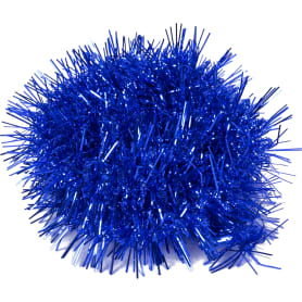 Гирлянда вьющаяся синяя