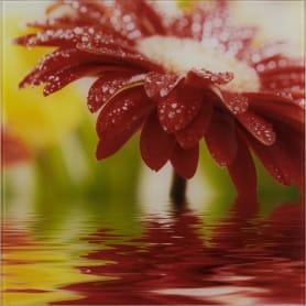 Картина на стекле 30х30 см «Red flower» 27737524