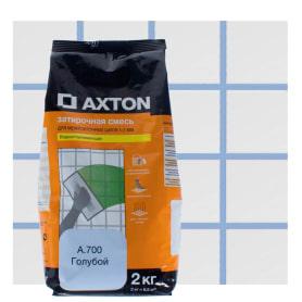 Затирка цементная Axton А.700 2 кг цвет голубой