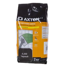 Затирка цементная Axton А.200 2 кг цвет черный