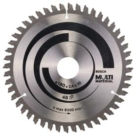 Диск пильный универсальный 180х30/20 мм Bosch Multimater 2608640507, 49 Т