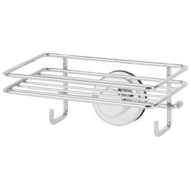 Полка для ванной комнаты Sensea «Simply Lock» с двумя присосками металл