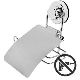 Держатель для туалетной бумаги Sensea «Simply Lock» на присоске, цвет хром