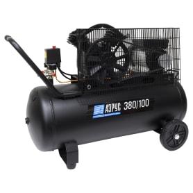 Компрессор масляный Аэрус, 100 л 380 л/мин. 2.2 кВт
