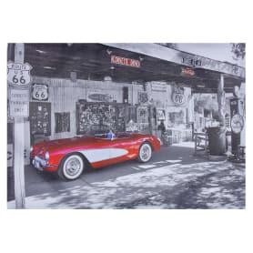 Картина на холсте «Корветт паркинг» 50х70 см