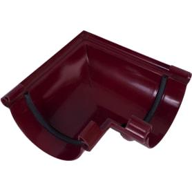 Угол желоба универсальный на 90° Murol цвет красный