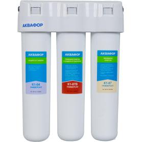 Система Кристалл ЭКО-Н Аквафор для жёсткой воды, 3 ступени