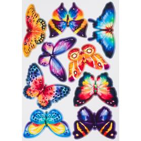Наклейка «Акварельные бабочки» Декоретто S