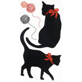 Наклейка влагостойкая «Кошки» RDA 3185