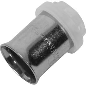 Гильза для пресс-фитинга Valtec, 16 мм, никелированная латунь