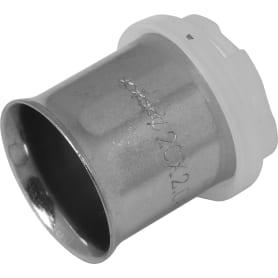 Гильза Valtec для пресс-фитинга, 20 мм, никелированная латунь