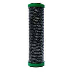 Картридж угольный с серебром Aquafilter, карбон-блок 10SL, FCCBL-S