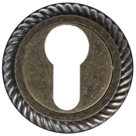 Накладка под евроцилиндр Puerto ET AL 17 цвет бронза античная матовая