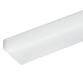 Профиль ПВХ F-образный 55 мм для панелей 8 мм, 3000 мм