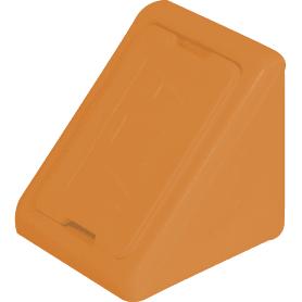 Комплект уголков мебельных с шурупами цвет бук, 6 шт.