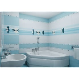 Панно «Dream» 30х40 см цвет голубой
