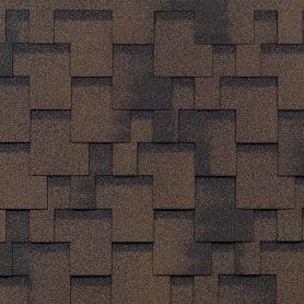 Черепица гибкая Mida Аккорд, цвет коричневый
