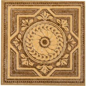Вставка «Византия» 7х7 см цвет бежевый