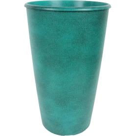 Горшок цветочный «Коне» D28, 18, 5л., пластик, Синий, Зеленый