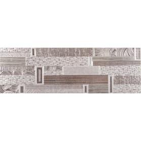 Плитка настенная Chicago Gris 20х60 см 1.44 м2 цвет серый