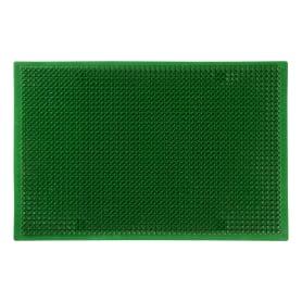 Коврик придверный «Травка» ПВХ 38х58 см цвет зелёный