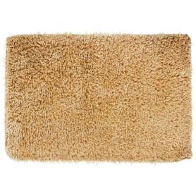 Коврик для ванной комнаты «Shaggy» 70х100 см цвет бежевый