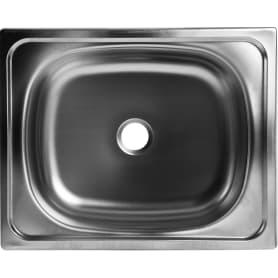 Мойка врезная Classic 50х40 см глубина 16 см, нержавеющая сталь, цвет серебристый