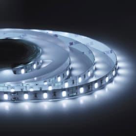 Светодиодная лента 19,6Вт/60LED/м свет холодный белый IP23